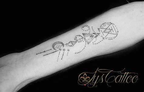 tatouages geometriques symetriques tatoueur vers