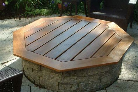 built in pit built in fire pit covers fire pit landscaping ideas design outdoors pinterest game