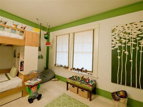 Woodland Themed Boy's Room   HGTV