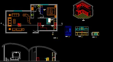 simple house  autocad  cad   kb