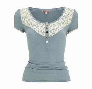 Spitze Zum Nähen : review shirt mit spitze n hen mit spitze pinterest ~ Lizthompson.info Haus und Dekorationen