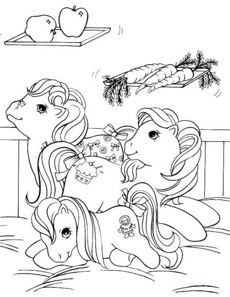coloriage petit poney les beaux dessins de dessin anime