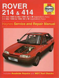 Rover 214 Et 414 Service And Repair Manual  Livres