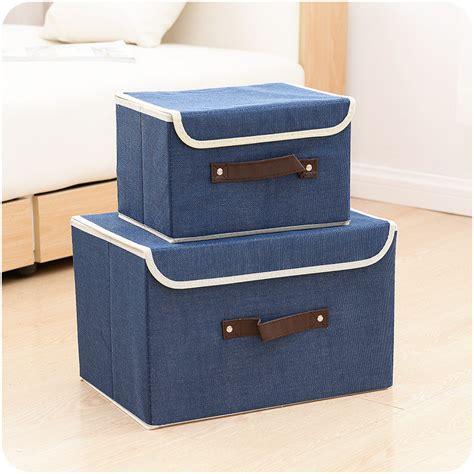 Thick Nonwoven Storage Box Container Drawer Divider Lidded