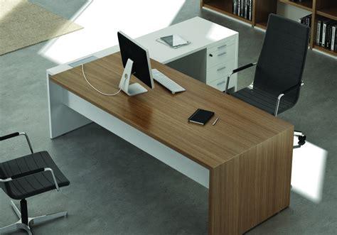Bureau Blanc Design Contemporain Bureau En Promo