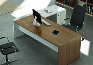 Bureau Contemporain Design : bureau blanc design contemporain bureau en promo lepolyglotte ~ Teatrodelosmanantiales.com Idées de Décoration