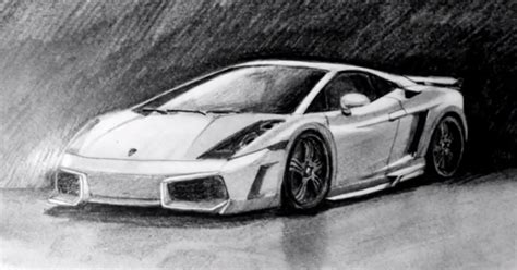 Lamborghini Gallardo By Speed Drawing Italia By