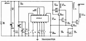 Diagram Ingram  Radio Controlled Motor Using Af2310