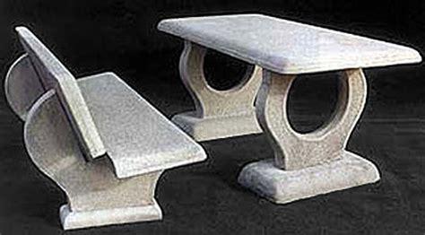 panchine in cemento prezzi tavoli e panche in cemento da giardino per interno ed