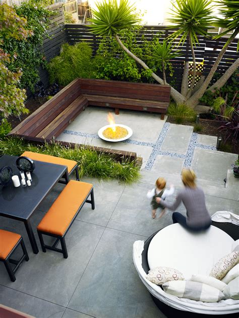 Before & After Small Yards Think Big  Sunset Magazine