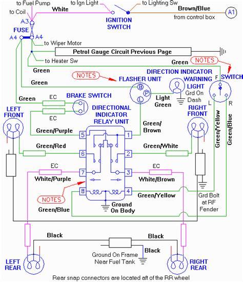 mga fused ignition circuit diagram b