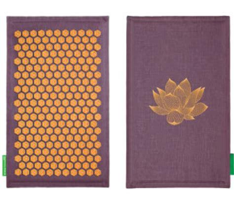 tapis de fakir ou acupression quot chs de fleur quot pour maux de dos