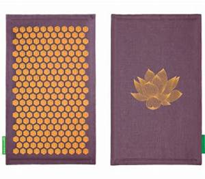 tapis de fakir ou acupression quotchamps de fleurquot pour maux With tapis de fleurs acupression