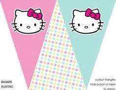 Hello Kitty Banner Template