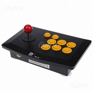 DILONG PU702 Wired USB Street Fighter Joystick Controller ...