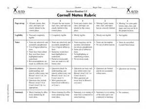 Printable Cornell Notes Template Word