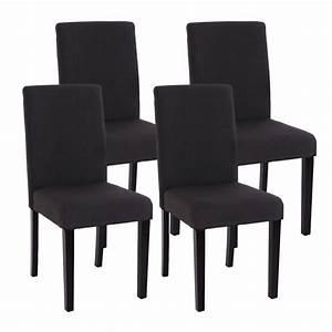 Salle A Manger Noir : chaise de salle a manger noir pas cher ~ Premium-room.com Idées de Décoration