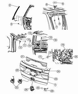 2014 Jeep Grand Cherokee Latch  Liftgate