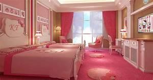 Chambre Hello Kitty : le plus grand parc d 39 attractions hello kitty en chine chine informations ~ Voncanada.com Idées de Décoration