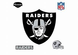 Oakland Raiders Logo Wall Decal Shop Fathead® for