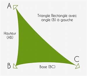 Voile D Ombrage Sur Mesure Avec Oeillets : voile d 39 ombrage sur mesure triangle rectangle imperm able ~ Melissatoandfro.com Idées de Décoration