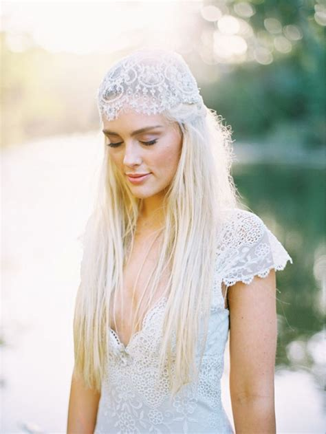 picture  awesome boho chic bridal headpieces