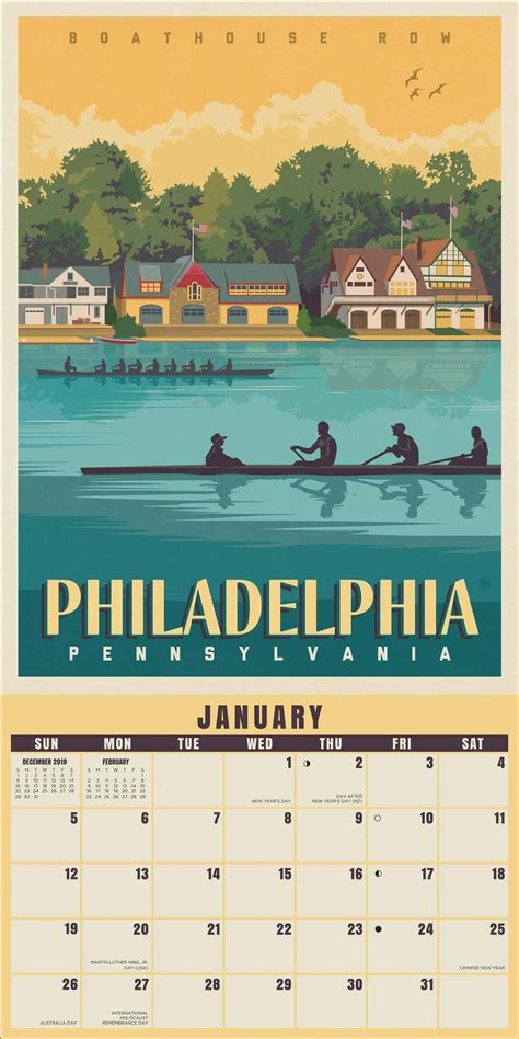 american cities classic posters calendar calendar club uk