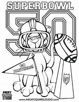 Coloring Pages Superbowl Bowl Super Broncos Denver Buffalo Pink Drawing Panther Bronco Ford Trophy Printable Patriots Indian Panthers Carolina Head sketch template
