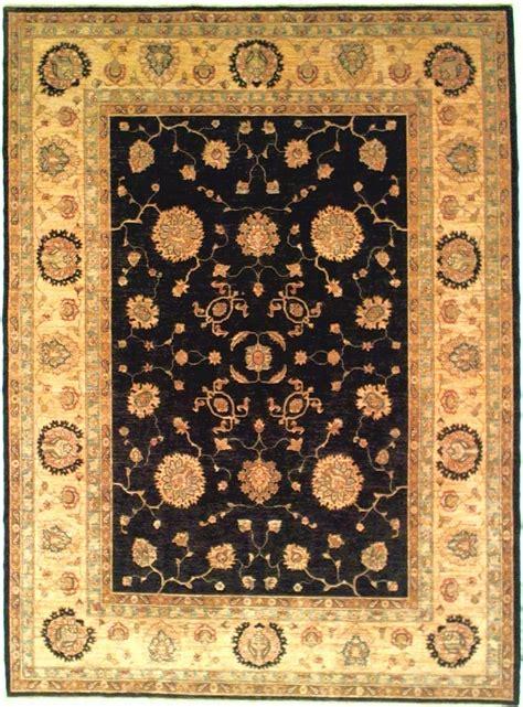 tappeto ziegler tappeto ziegler ferahan black and gold 281 x 209