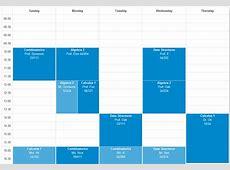 javascript Designing a dynamic responsive week calendar