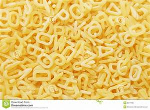 alphabet pasta stock image image of details food With letter shaped pasta