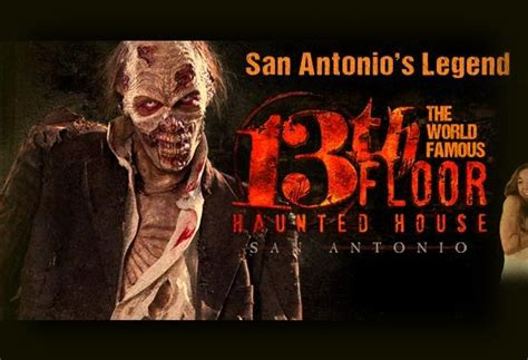 The Thirteenth Floor Haunted House San Antonio by Best Haunted Houses In America 2015