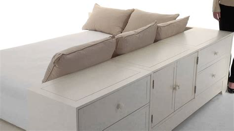 size futon maximize style and storage with beds pbteen pottery barn