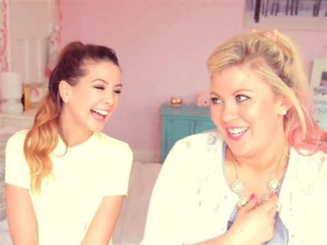 Zoella And Louise Pentland Friendship Zoella Talks Relationship Break Ups With Louise Aka