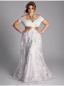 Plus size vintage wedding dress for Plus size retro wedding dresses