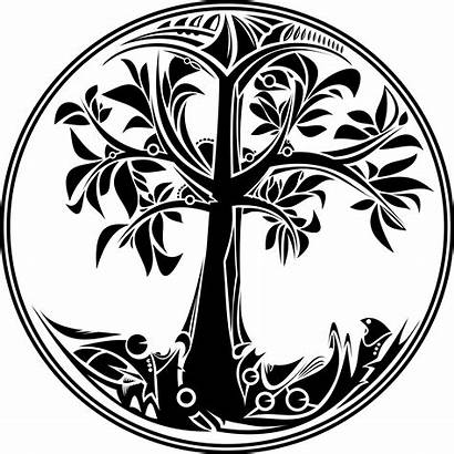 Tree Bible Meaning Vector Symbolism Earth Fruit