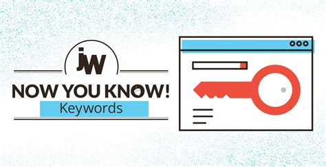 Now You Know Keywords