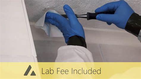 asbestos testing kit youtube