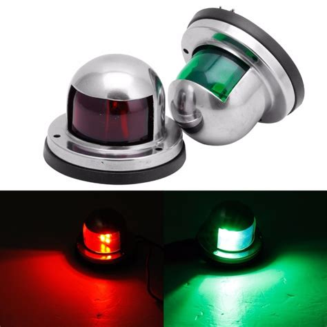 Bow Lights by One Pair Marine Boat Yacht Light 12v Stainless Steel Led