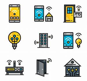 Smart Home Icon : 29 smart home icon packs vector icon packs svg psd png eps icon font free icons ~ Markanthonyermac.com Haus und Dekorationen