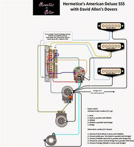 Stratocaster 5 Way Switch Sss Wiring Diagram