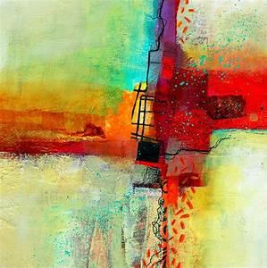 imágenes arte pinturas cuadros abstractos muy fáciles