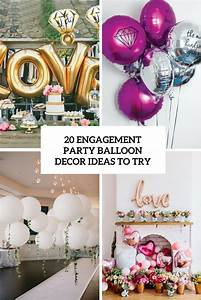 20 Engagement Party Balloon Décor Ideas To Try - Shelterness