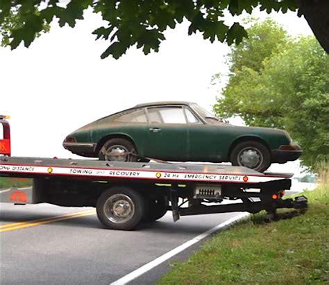 green porsche 911 barn find 1965 irish green porsche 911 damnedwerk