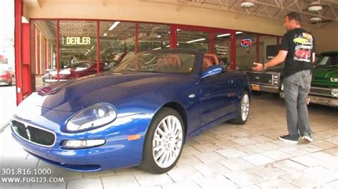 Maserati Spyder For Sale by 2002 Maserati Spyder For Sale With Test Drive Driving