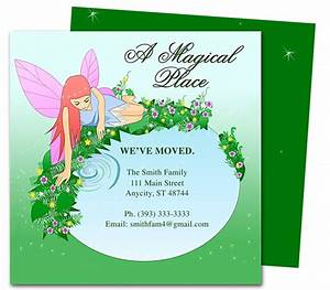 14 best images about moving announcements new address With we have moved cards templates
