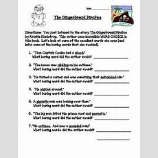 The Gingerbread Pirates A Study Of Author Word Choice (wo  Fun Snacks  Pinterest Study