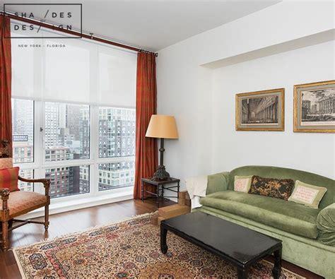 trump place duplex residence  york motorized window
