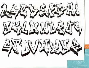 Different styles of graffiti alphabet graffiti art for Different kinds of alphabet letters