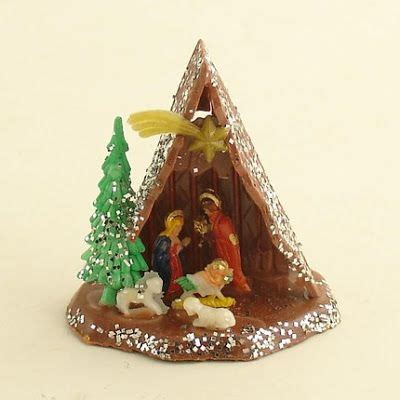 shiny brite 12 piece clay nativity set 24 best images about vintage nativity on housekeeping and vintage